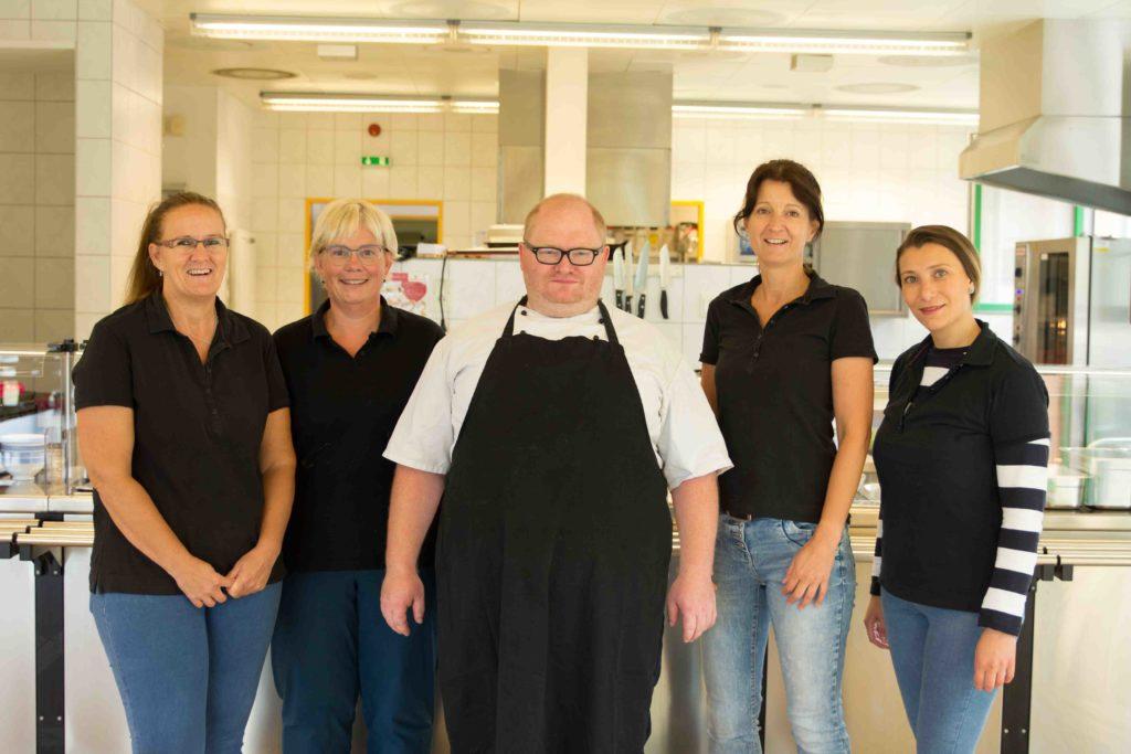 Walter-Lübcke-Schule – Mensa-Team